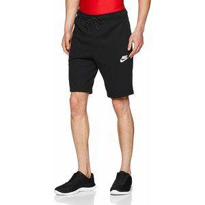 Nike Men's Medium Black Jersey Shorts Slim Fit